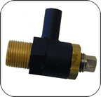BLOWDOWN VALVE 3/8'' X 32 -INTERNATIONAL