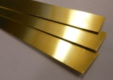 BRASS STRIP 1/2'' X 0.032 3