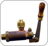 1/4'' x 40 STEAM WHISTLE VALVE